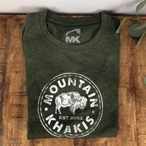 Mountain khakis Women's S/S T-Shirt Bison Small